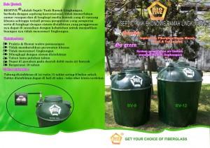brosur septic tank biofive bv series hijau