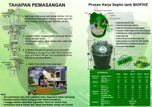 brosur septictank bv series