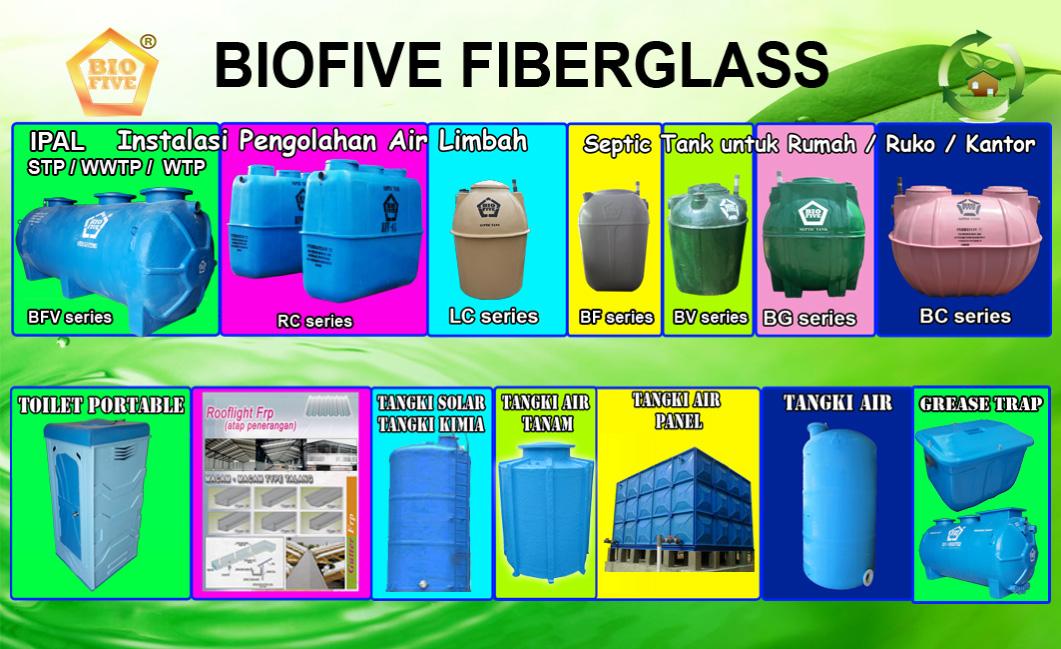 biofive fiberglass, pt. biofive sejahtera indonesia