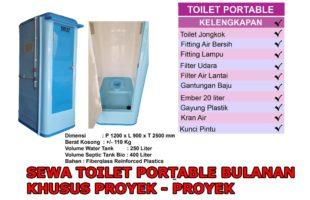 Sewa Toilet Portable Bulanan